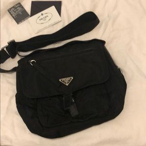 100% AUTHENTIC PRADA SHOULDER MESSENGER BAG UNISEX